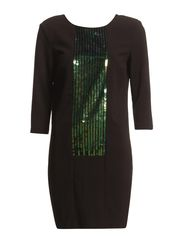 MAY SEQUIN DRESS - P13 - Black