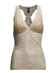 YASPERLA WREST SINGLET - Toasted Almond