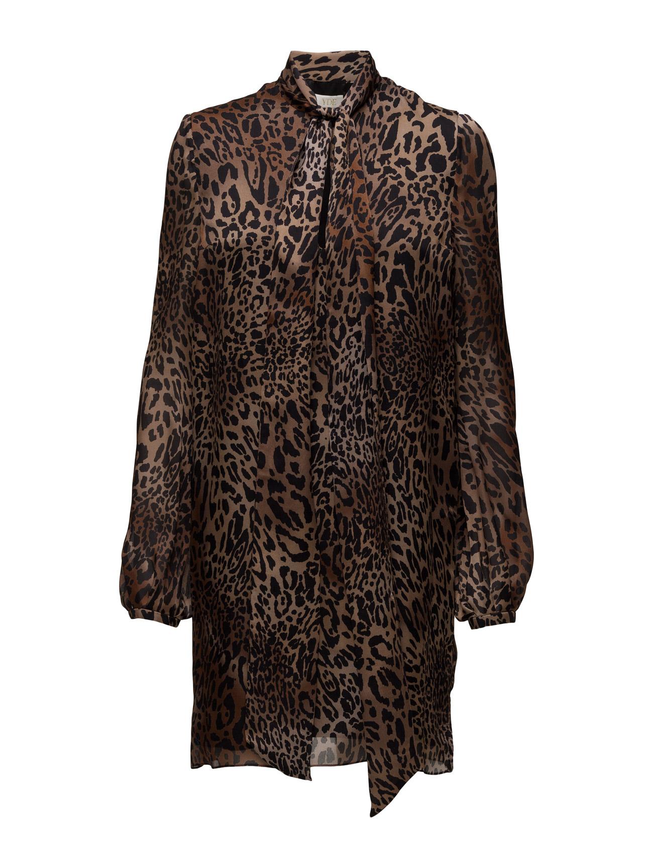 Jungle YDE Kjoler til Kvinder i Leopard