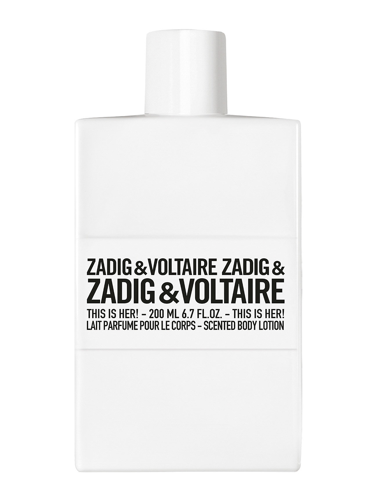 zadig & voltaire fragrance Zadig & voltaire this is her! body fra boozt.com dk