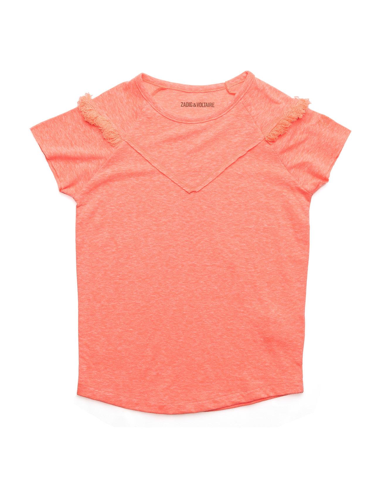 zadig & voltaire – Short sleeves tee-shirt fra boozt.com dk