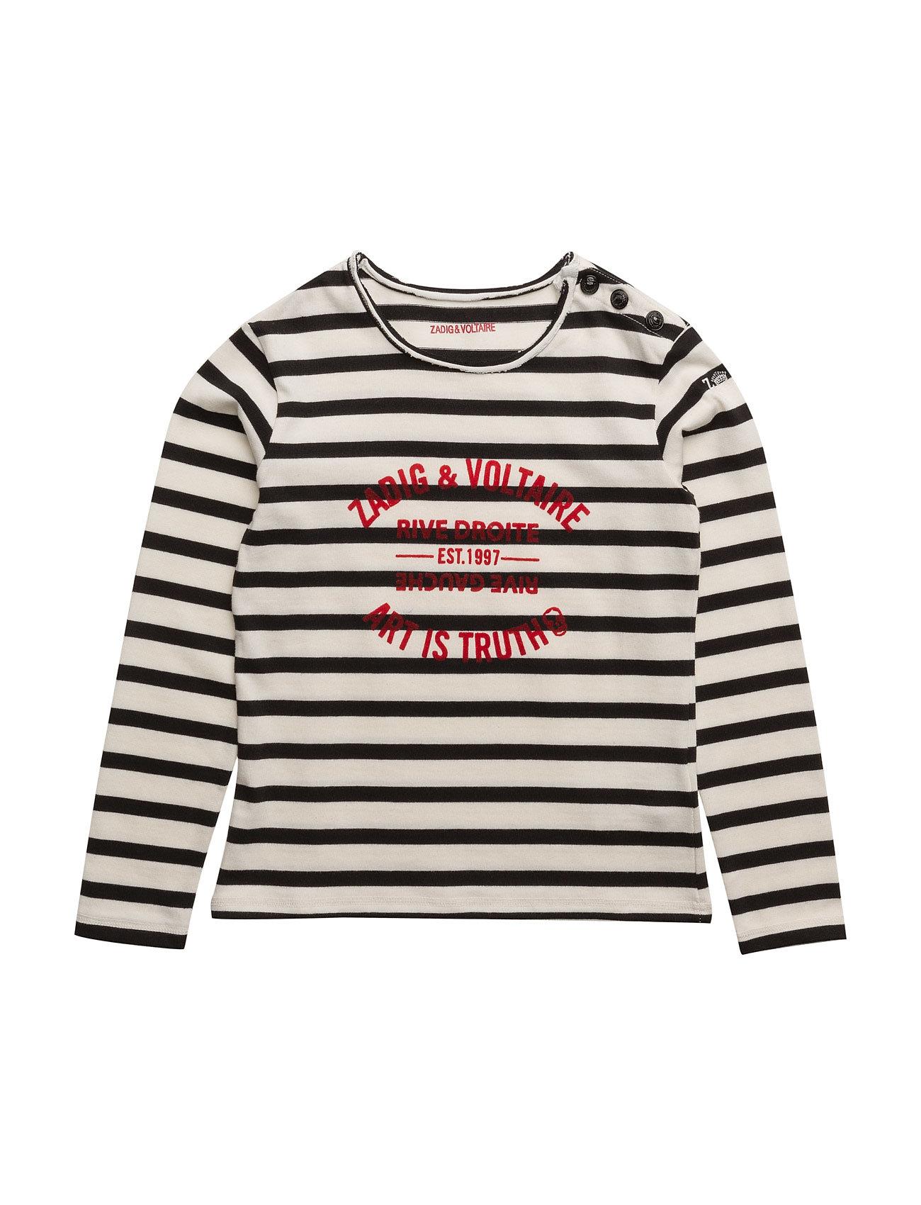 zadig & voltaire – Long sleeve t-shirt på boozt.com dk