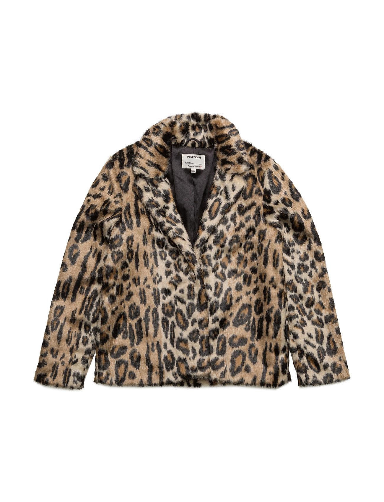 zadig & voltaire Fake fur jacket fra boozt.com dk