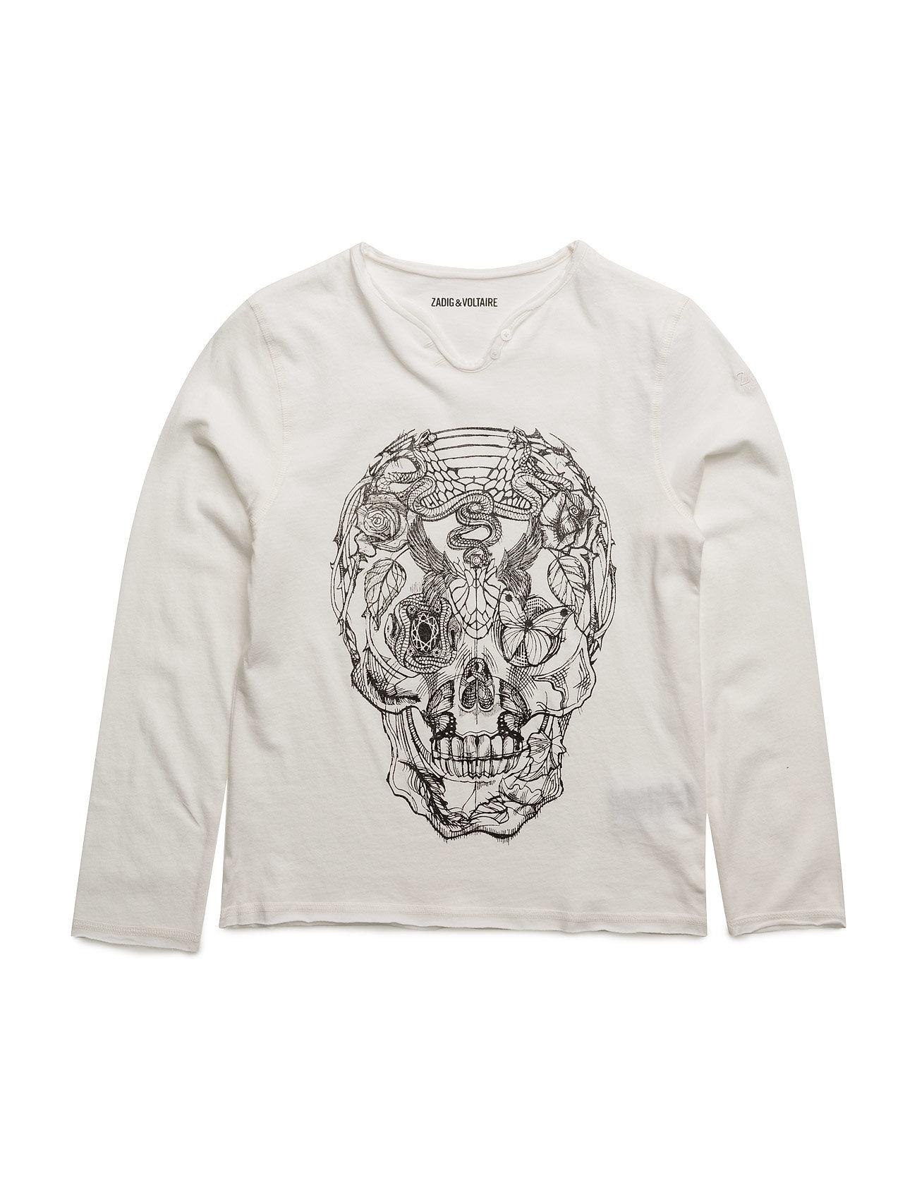 Long sleeve t-shirt fra zadig & voltaire på boozt.com dk