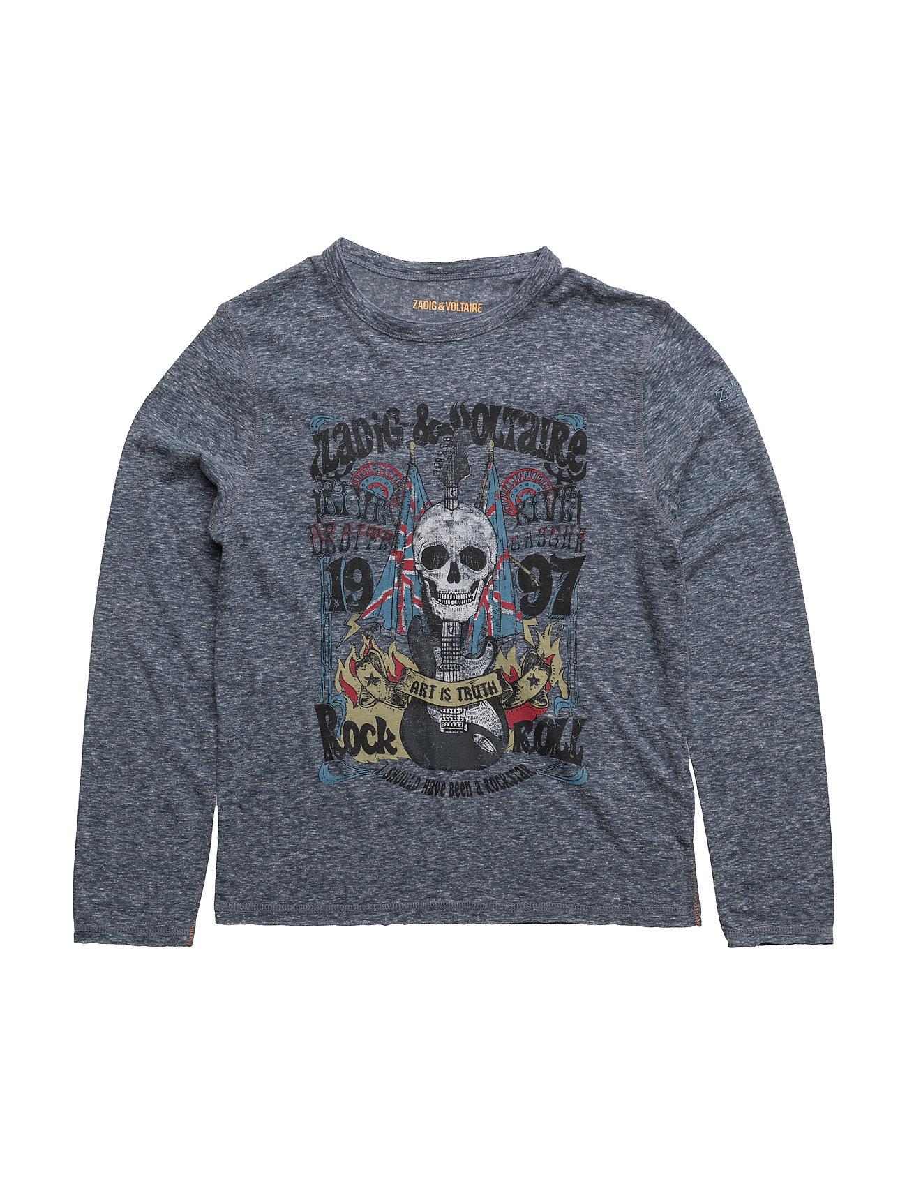 zadig & voltaire – Long sleeve t-shirt fra boozt.com dk
