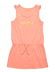 DRESS - CORAIL FLUO