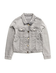 DENIM JACKET - DENIM GREY