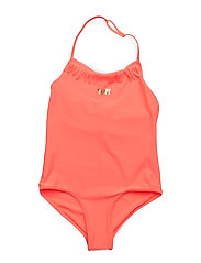 SWIMMING COSTUME - CORAIL FLUO