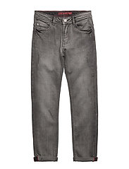 DENIM TROUSERS - DENIM GREY
