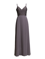 Kate lace long - TAUPE