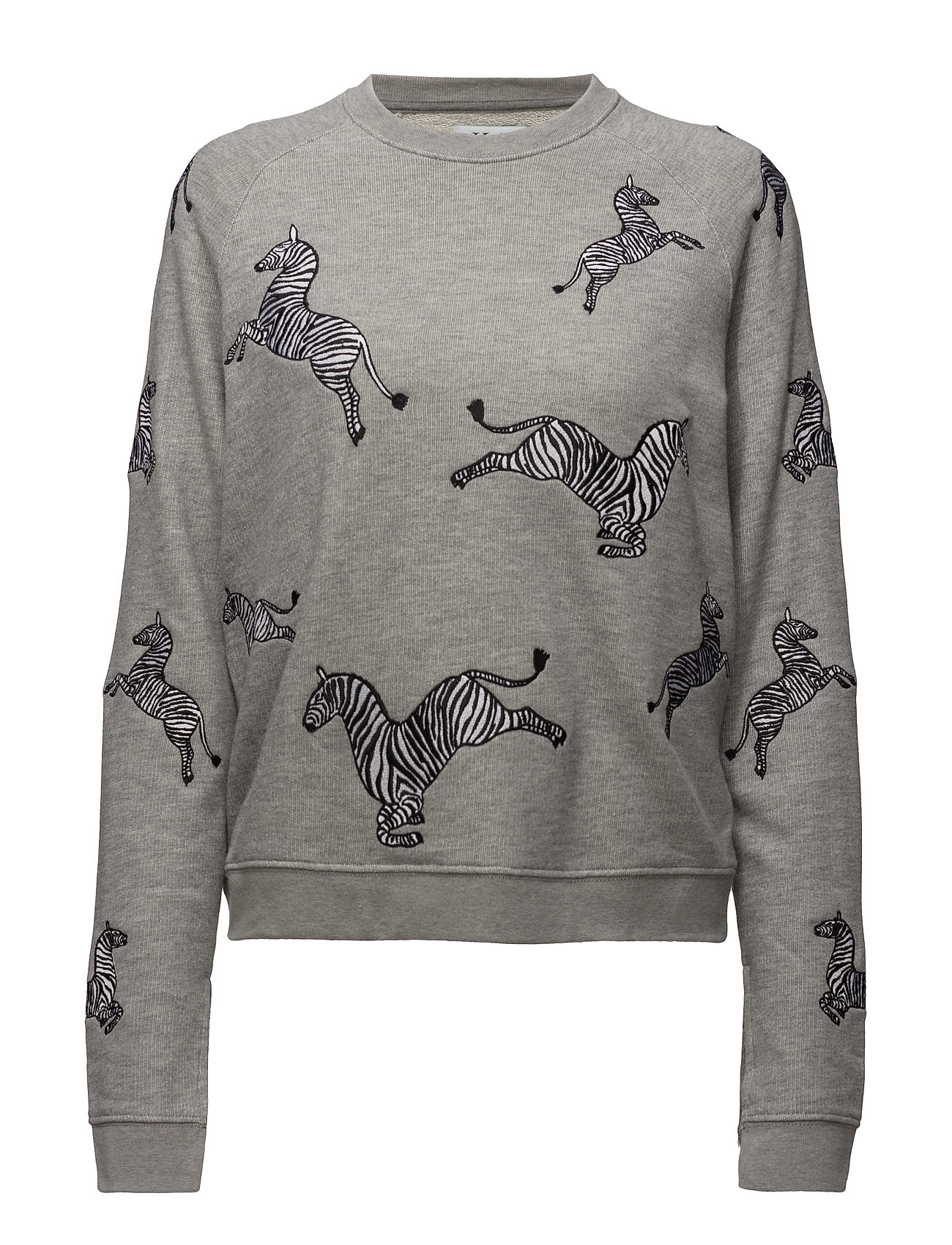 Loose Fit Raglan Sweat Zebras All Over thumbnail