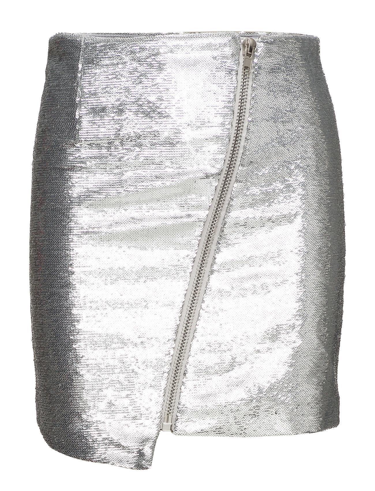 zoe karssen – Asymmetric zip mini skirt på boozt.com dk