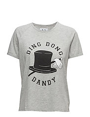 BOX FIT TEE DING DONG DANDY - GREY HEATHER
