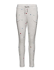 HEARTS ALL OVER - LIGHT GREY HEATHER