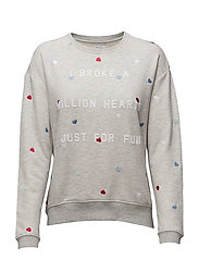 MILLION HEARTS - LIGHT GREY HEATHER