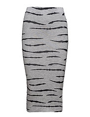 ZEBRA ALL OVER - GREY HEATHER